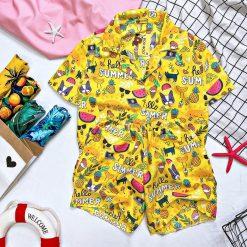 đồ bộ summer vàng